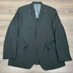 Calvin Klein Black Packable Waterproof Blazer 44R
